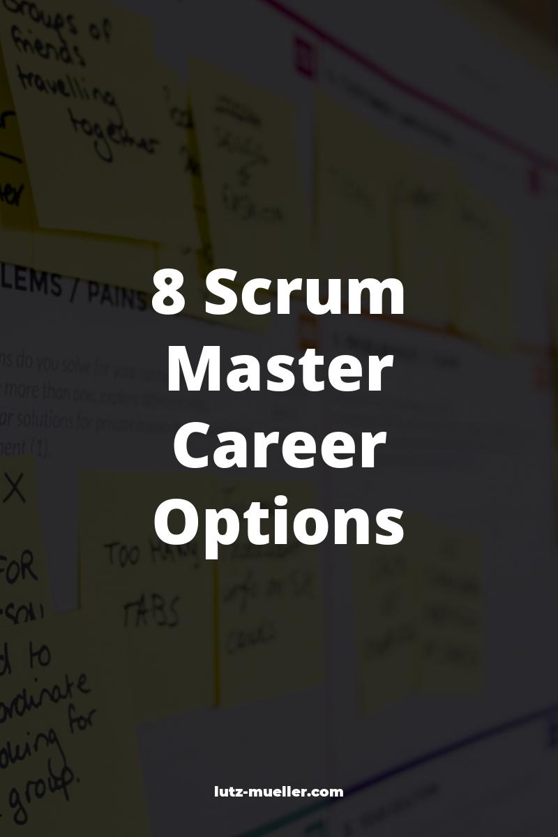 8 Scrum Master Career Options